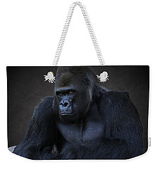 Portrait Of A Male Gorilla Weekender Tote Bag