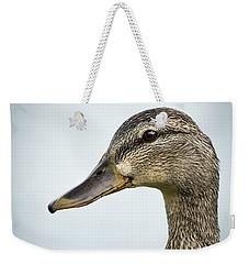Portrait Of A Mallard Weekender Tote Bag