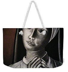 Portrait Of A Nun Weekender Tote Bag