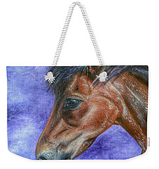 Portrait Of A Pony Weekender Tote Bag