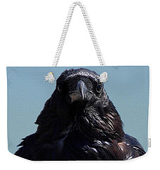 Portrait Of A Raven Weekender Tote Bag