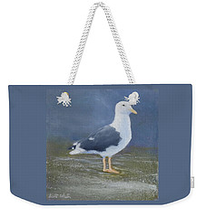 Portrait Of A Seagull Weekender Tote Bag