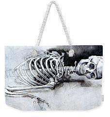 Portrait Of A Skeleton Weekender Tote Bag