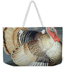 Portrait Of A Turkey  Weekender Tote Bag