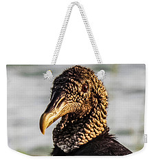 Portrait Of A Vulture Weekender Tote Bag