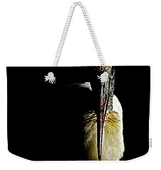 Portrait Of A Wood Stork Weekender Tote Bag