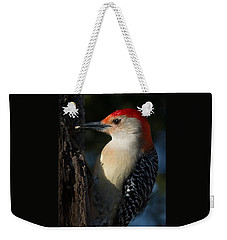 Portrait Of A Woodpecker Weekender Tote Bag