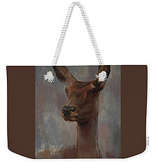 Portrait Of A Young Doe Weekender Tote Bag