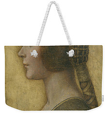 Portrait Of A Young Fiancee Weekender Tote Bag