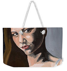 Portrait Of Amanda Weekender Tote Bag