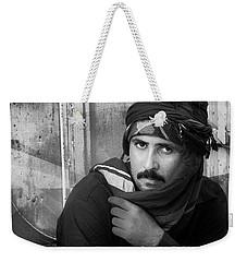 Portrait Of An Arab Man Weekender Tote Bag