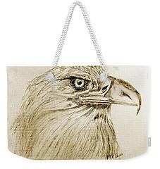Portrait Of An Eagle Weekender Tote Bag