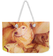 Portrait Of Chi Chi Weekender Tote Bag