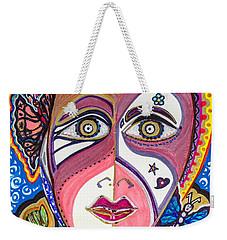 Portrait Of Hope Weekender Tote Bag