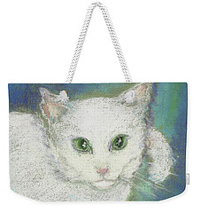 Portrait Of Misty Weekender Tote Bag