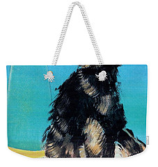 Portrait Of Muffin Weekender Tote Bag