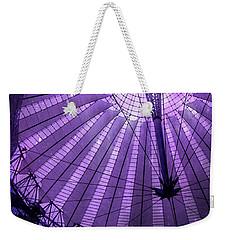 Portrait Of Purple Cosmic Berlin Weekender Tote Bag