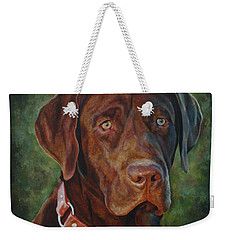 Portrait Of Remington 0094_2 Weekender Tote Bag