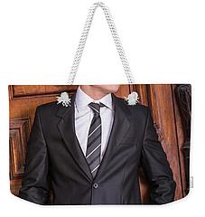 Portrait Of School Boy 1504252 Weekender Tote Bag