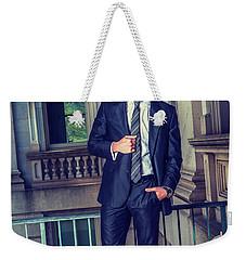 Portrait Of School Boy 1504258 Weekender Tote Bag