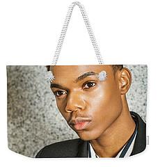 Portrait Of School Boy 15042652 Weekender Tote Bag
