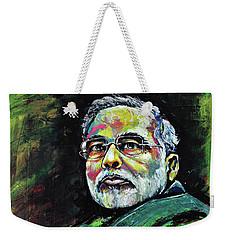 Portrait Of Shri Narendra Modi Weekender Tote Bag