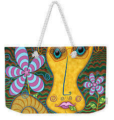 Portrait Of The Artist As A Young Snail Weekender Tote Bag