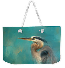 Portrait Of The Heron Weekender Tote Bag
