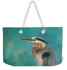 Portrait Of The Heron Weekender Tote Bag
