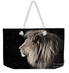 Portrait Of The King Of The Jungle II Weekender Tote Bag