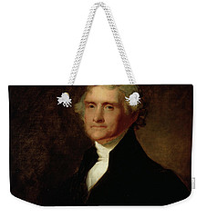Portrait Of Thomas Jefferson Weekender Tote Bag by Asher Brown Durand