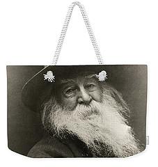 Portrait Of Walt Whitman Weekender Tote Bag