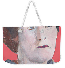 Portrait On Paper 32817 Weekender Tote Bag