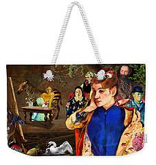 Portraiture Weekender Tote Bag