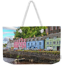 Portree Town On Skye, Scotland Weekender Tote Bag