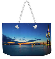 Weekender Tote Bag featuring the photograph Portsmouth 2 by Mariusz Czajkowski