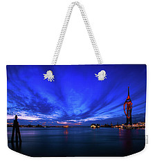 Weekender Tote Bag featuring the photograph Portsmouth Blue by Mariusz Czajkowski
