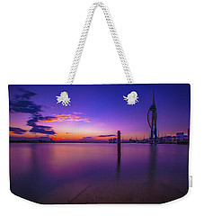 Weekender Tote Bag featuring the photograph Portsmouth  by Mariusz Czajkowski