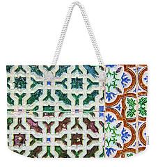 Portuguese Handmade Tile Weekender Tote Bag