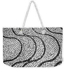 Portuguese Pavement Patterns In Cascais Weekender Tote Bag
