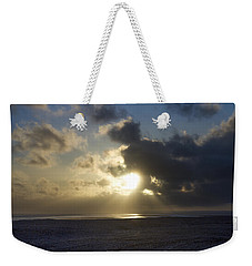 Poseidon Embellished By The Sun Weekender Tote Bag by Silvia Bruno