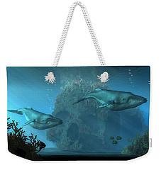 Poseidon's Grave Weekender Tote Bag by Daniel Eskridge