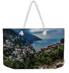 Positano By The Amalfi Coast Weekender Tote Bag