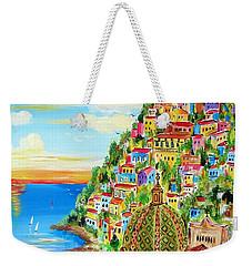 Positano Dreamy Sunset Weekender Tote Bag