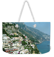 Positano In The Afternoon Weekender Tote Bag by Donna Corless