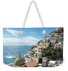 Positano Italy Weekender Tote Bag by Loriannah Hespe