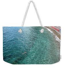 Positano Swimmer Weekender Tote Bag