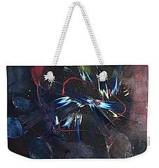 Positive Energy Weekender Tote Bag by Karen Nicholson