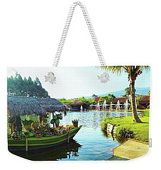 Floating Market Lembang Weekender Tote Bag