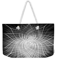 Positivity Weekender Tote Bag by Carolyn Marshall